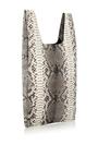 Gunmetal Python Metallic Hayward Shopper by HAYWARD Now Available on Moda Operandi