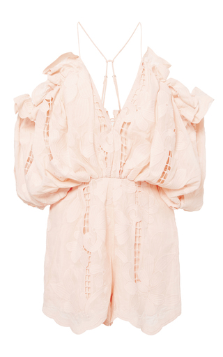 Medium alice mccall pink blush shake it off playsuit