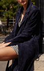 Suki Suede Coat by SANDY LIANG Now Available on Moda Operandi