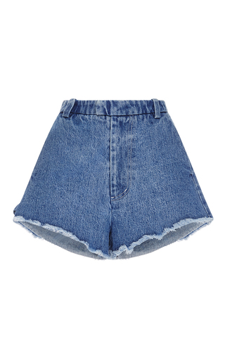 Medium sandy liang blue meesh shorts