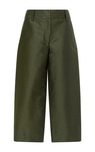 Medium isa arfen khaki relaxed crop pants