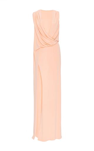 Medium cushnie et ochs orange sienna gown