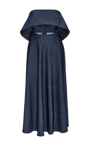 Medium cushnie et ochs blue denim natalie dress