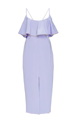 Medium cushnie et ochs purple joli dress