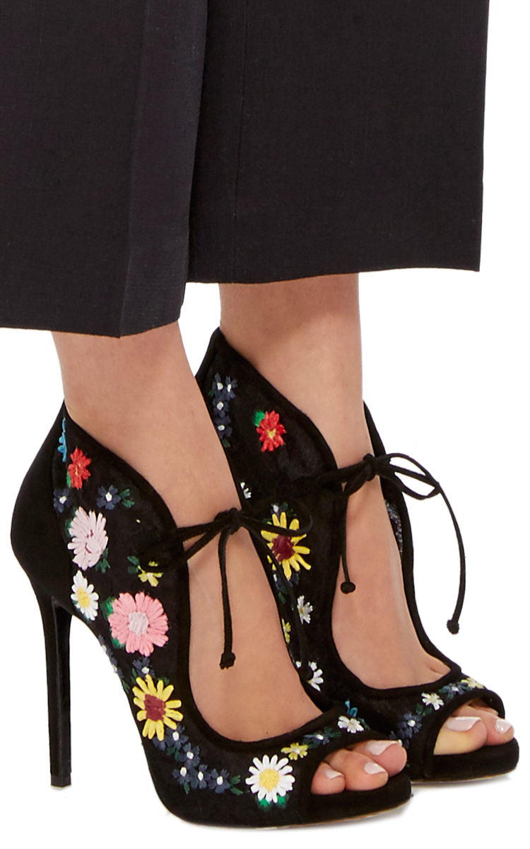Dusty meadow embroidered heels by tabitha simmons moda operandi ccuart Image collections
