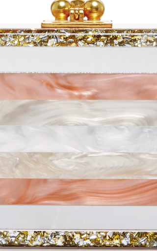 Long Rectangular Flavia Striped Clutch by EDIE PARKER Now Available on Moda Operandi