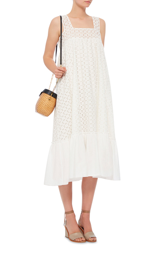 Jane Basket Shoulder Bag  by EDIE PARKER Now Available on Moda Operandi