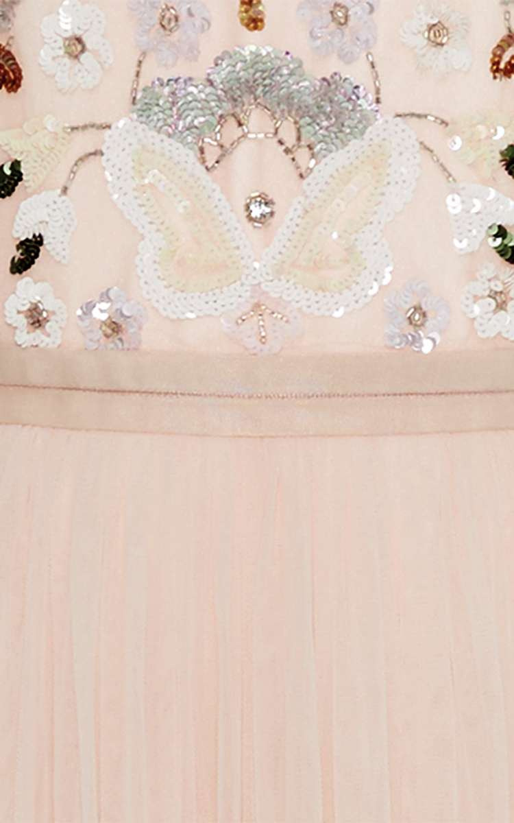036792834d45 Needle & ThreadPink Floral Cluster Gown. CLOSE. Loading. Loading. Loading
