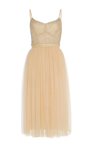 Medium needle thread yellow coppelia ballet dress