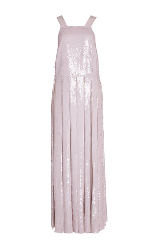Sequin Silk Dress by TIBI Now Available on Moda Operandi