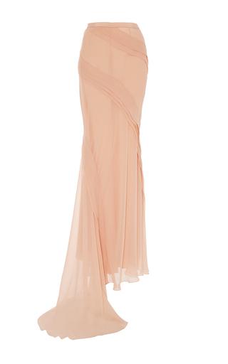 Medium prabal gurung light pink chiffon long skirt