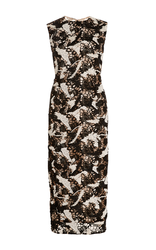Guipure Lace Sheath Dress by PRABAL GURUNG Now Available on Moda Operandi