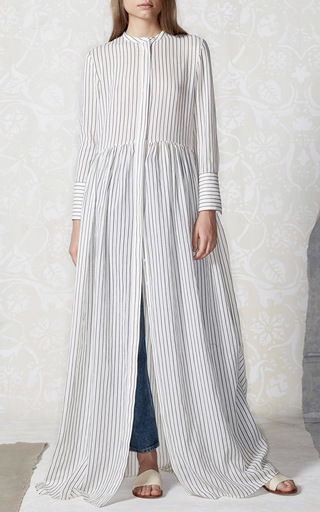 Cotton Stripe Disco Dress by BROCK COLLECTION Now Available on Moda Operandi