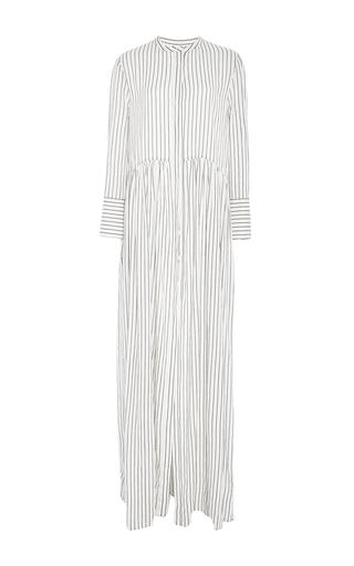 Medium brock stripe cotton stripe disco dress