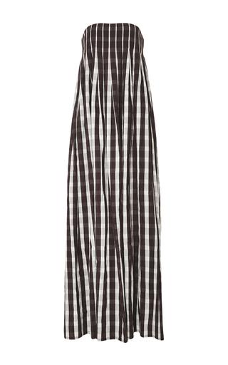 Medium brock plaid linen gingham dilly dress