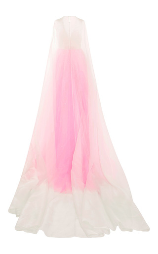 Fluorescent Jacquard Gown by DELPOZO Now Available on Moda Operandi