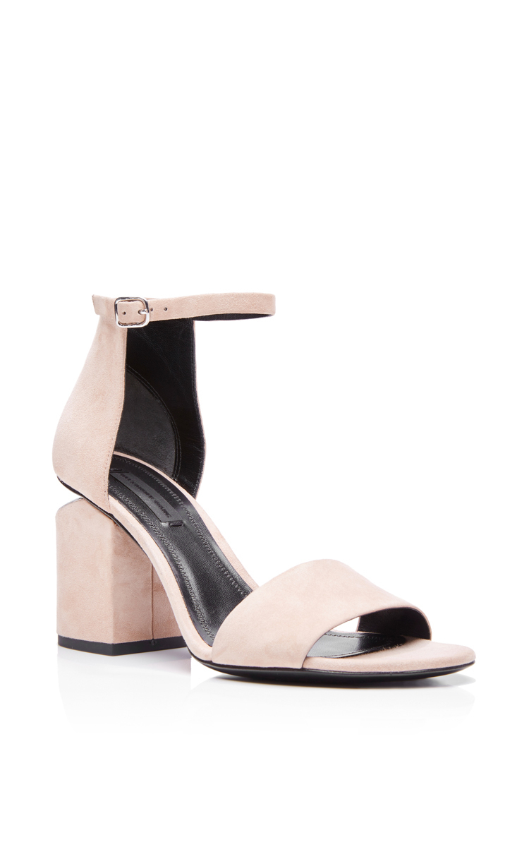 c8509646553e Sand Suede Abby Sandals by Alexander Wang