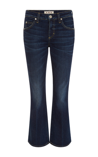 Medium amo  3 dark wash true blue flared jane jeans