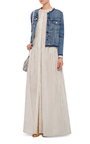 Lola Collarless Jacket by AMO Now Available on Moda Operandi