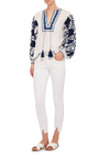 Vintage Split Ankle Mid Rise Skinny Jeans by AMO Now Available on Moda Operandi