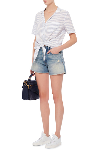 Le Original Denim Shorts by FRAME DENIM Now Available on Moda Operandi