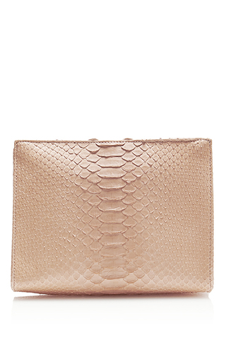 Medium hunting season nude nude python zip clutch
