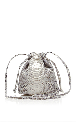 Medium hunting season animal python small bucket bag
