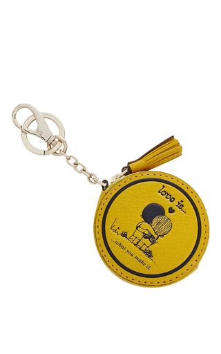 Medium anya hindmarch yellow love coin purse