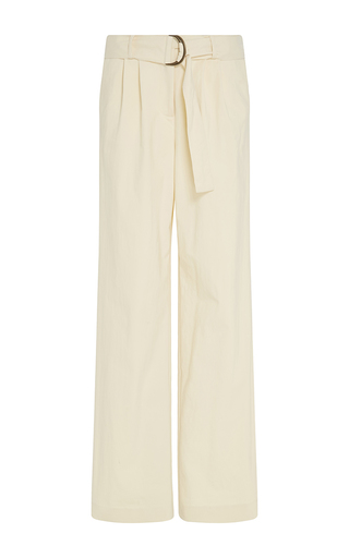 Medium rosie assoulin tan heavy cotton blend lindberg pully pant