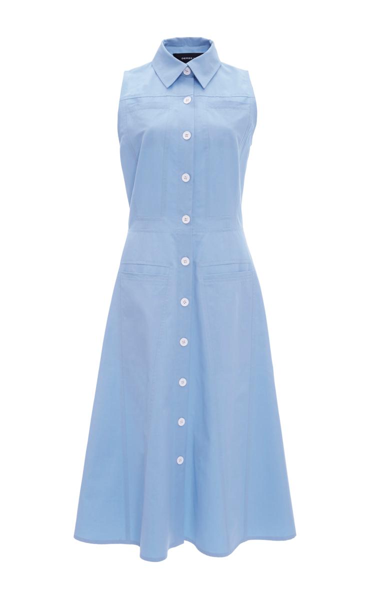 acdcaad01abc Poplin Sleeveless Button Down Shirtdress by Derek Lam | Moda Operandi