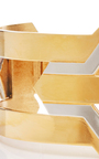Daphnis 24k Gold And Rhodium Three Way Choker  by MONICA SORDO Now Available on Moda Operandi