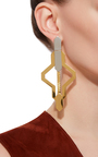 Daphnis Oversized Cut Out Earrings by MONICA SORDO Now Available on Moda Operandi