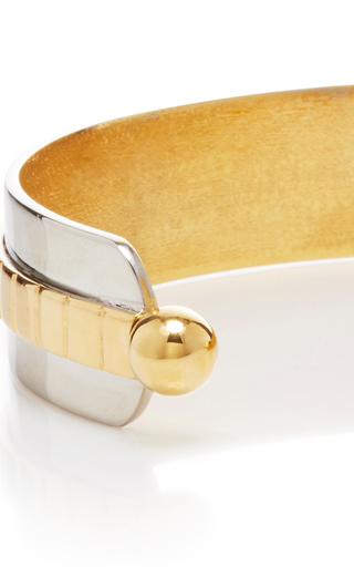 Croisette 24k Gold And Rhodium Four Way Neck Piece  by MONICA SORDO Now Available on Moda Operandi