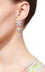 Monarch Florette Cubic Zirconia Earrings by FALLON Now Available on Moda Operandi