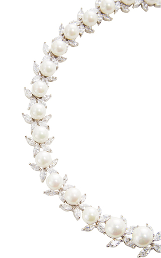 Monarch Pearl Necklace by FALLON Now Available on Moda Operandi