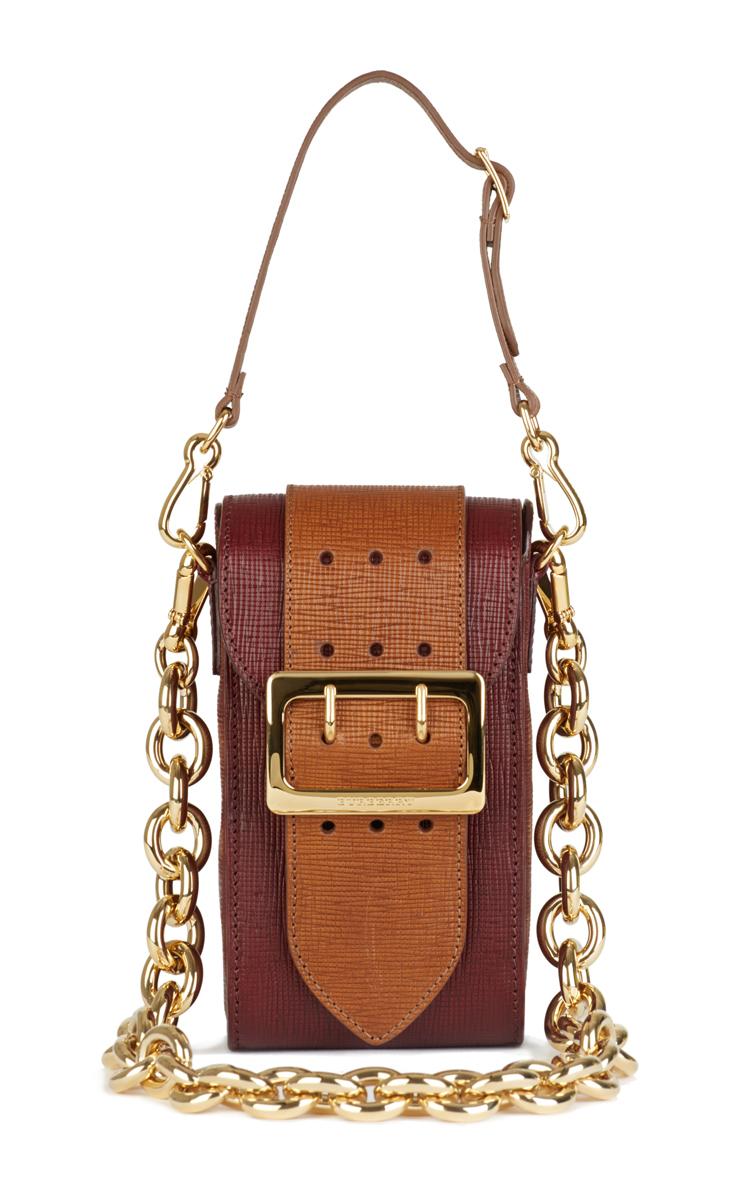 99f8750c5282 BurberryBurgundy Oblong Belt Bag in Textured Leather. CLOSE. Loading.  Loading
