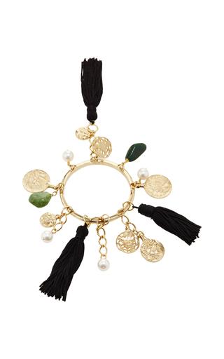 Tassel Charm Bracelet by OSCAR DE LA RENTA Now Available on Moda Operandi