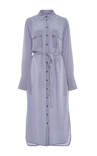 Delaney Silk Shirt Dress by EQUIPMENT Now Available on Moda Operandi