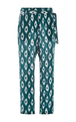 Carla Silk Cropped Pants  by EQUIPMENT Now Available on Moda Operandi