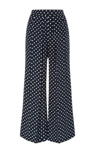 Penelope Silk Polka Dot Pants by PIAMITA Now Available on Moda Operandi