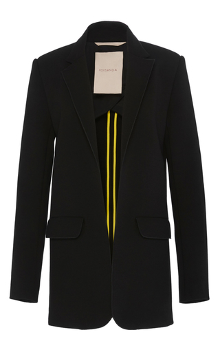 Medium roksanda ilincic black black lylah jacket