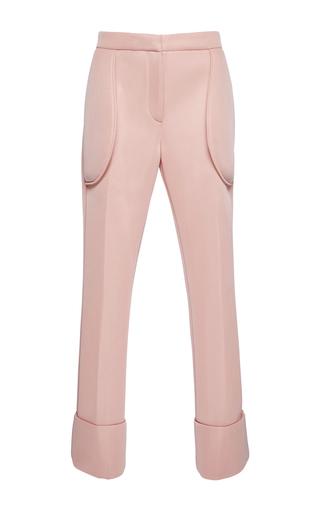 Medium simone rocha pink pink technical mesh straight legged pants