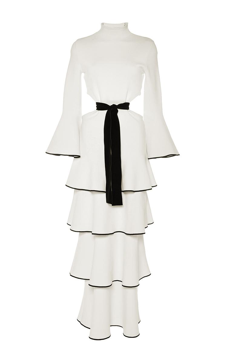 Black Dress Bell Sleeves