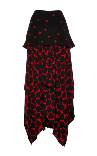 Long Skirt With Handkerchief Hem by PROENZA SCHOULER Now Available on Moda Operandi
