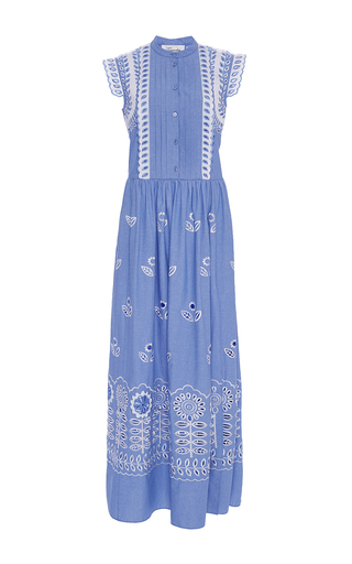 Cotton Maxi Gilda Dress by TEMPERLEY LONDON Now Available on Moda Operandi
