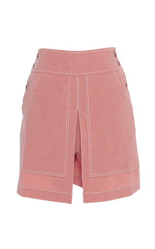 Medium temperley london pink chambray pink lanai shorts