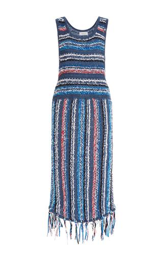 Multicolored Striped Dress by DEREK LAM 10 CROSBY Now Available on Moda Operandi