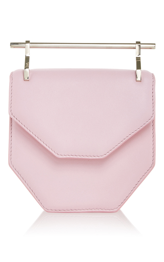 Medium m2malletier pink mini amor fati in pastel pink