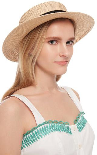 Brigitte 'daydreamer' Boat Hat  by EUGENIA KIM Now Available on Moda Operandi