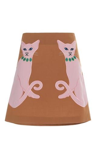 Medium vivetta tan cordelia mini skirt